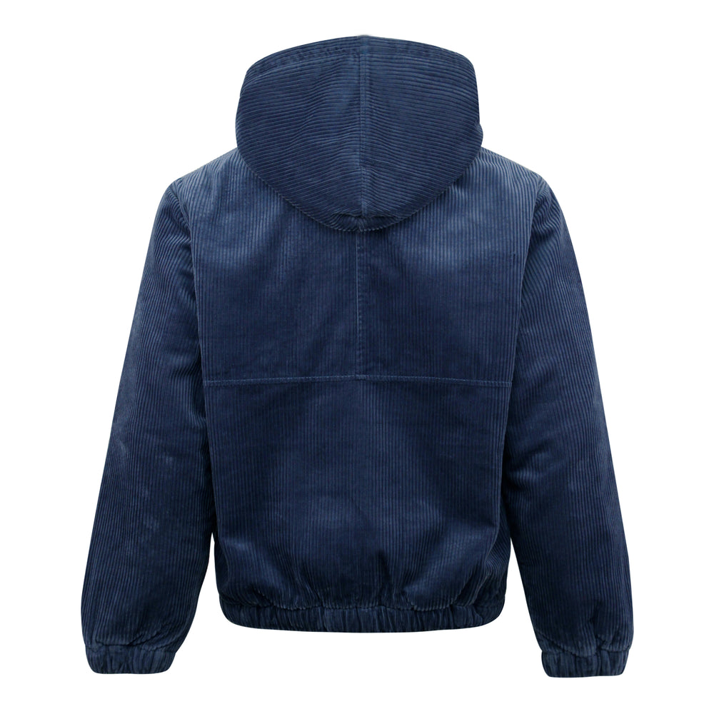 Stussy Wide Wale Work Jacket Navy - Roulette Clothing