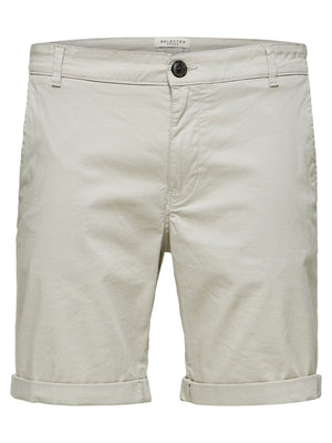 Selected Straight Paris Shorts Moonstruck - Roulette Clothing
