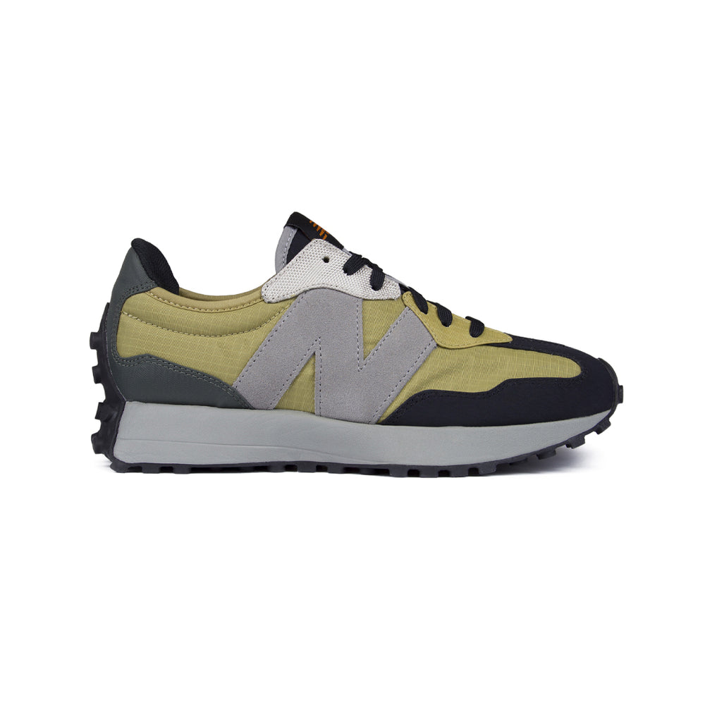 New Balance 327 Ripstop Sneaker Charcoal, Footwear available at Roulette Clothing