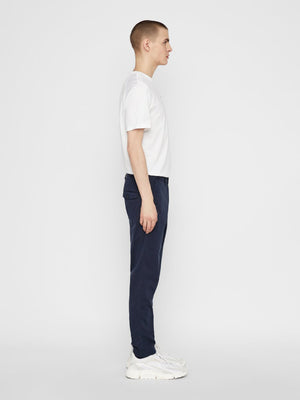 J Lindeberg Chaze Super Satin Chino Navy