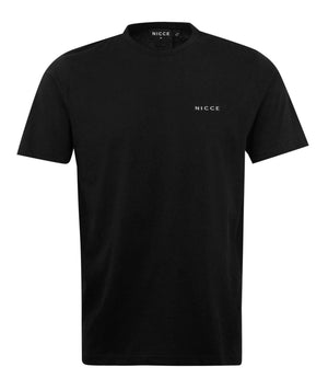 Load image into Gallery viewer, Nicce Brink Chest Logo T-Shirt Black - Roulette Clothing
