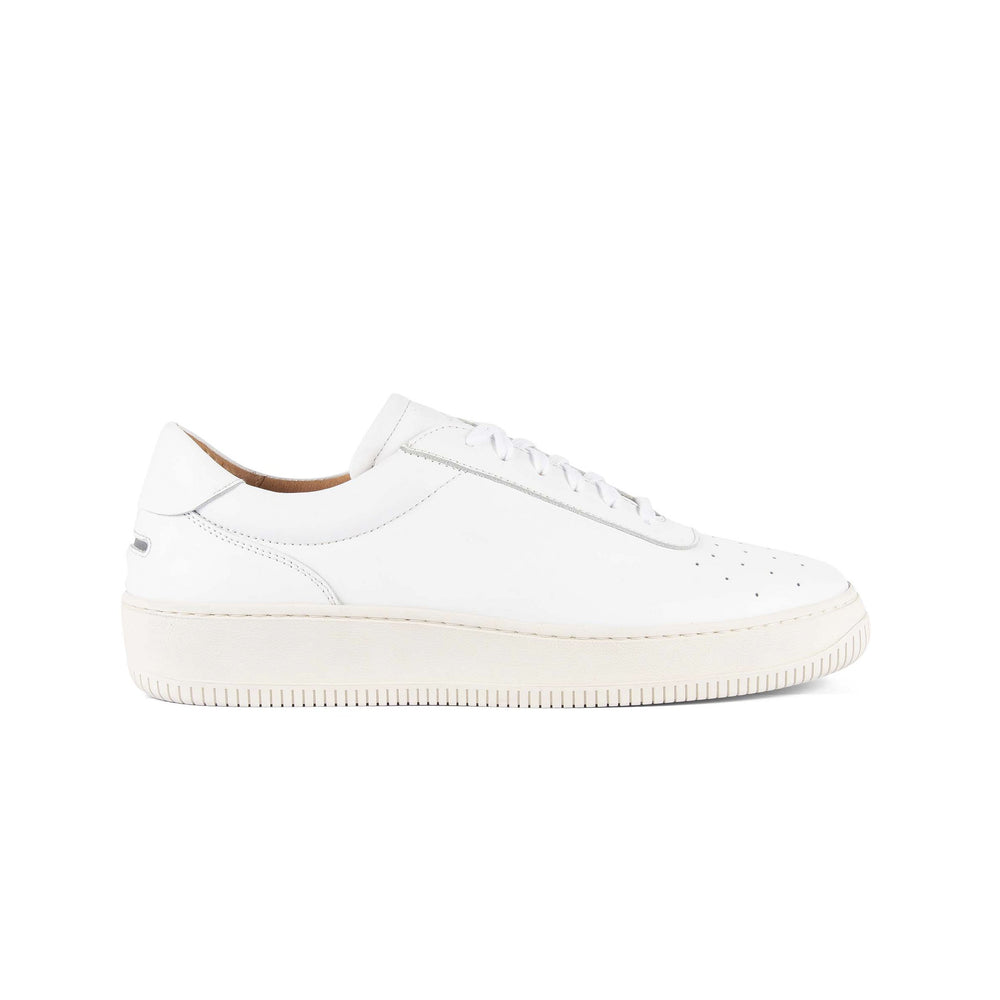 Clement Leather White, Footwear available at Roulette Clothing