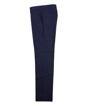 Gibson Semi Plain Trouser Blue - Roulette Clothing