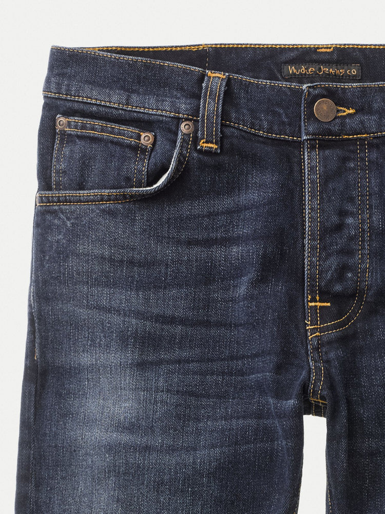 Nudie Grim Tim Jeans Ink Navy - Roulette Clothing