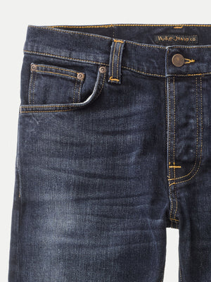 Nudie Grim Tim Jeans Ink Navy