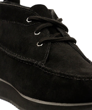 GH Bass Scout Runner Mid Boot Suede Black - Roulette Clothing