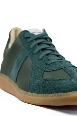 Load image into Gallery viewer, Novesta Gat All Leather Gum Sneaker Teal, Footwear available at Roulette Clothing