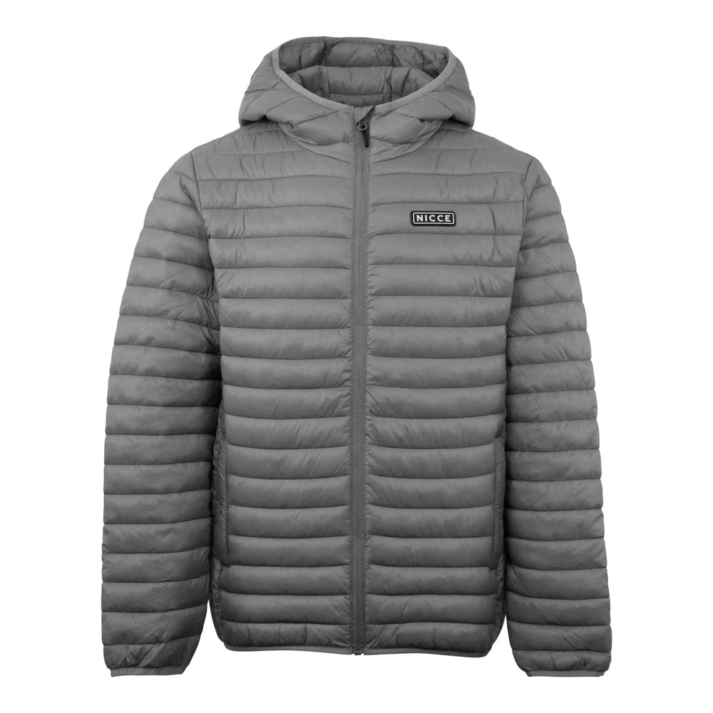 Nicce Maidan Jacket Grey - Roulette Clothing
