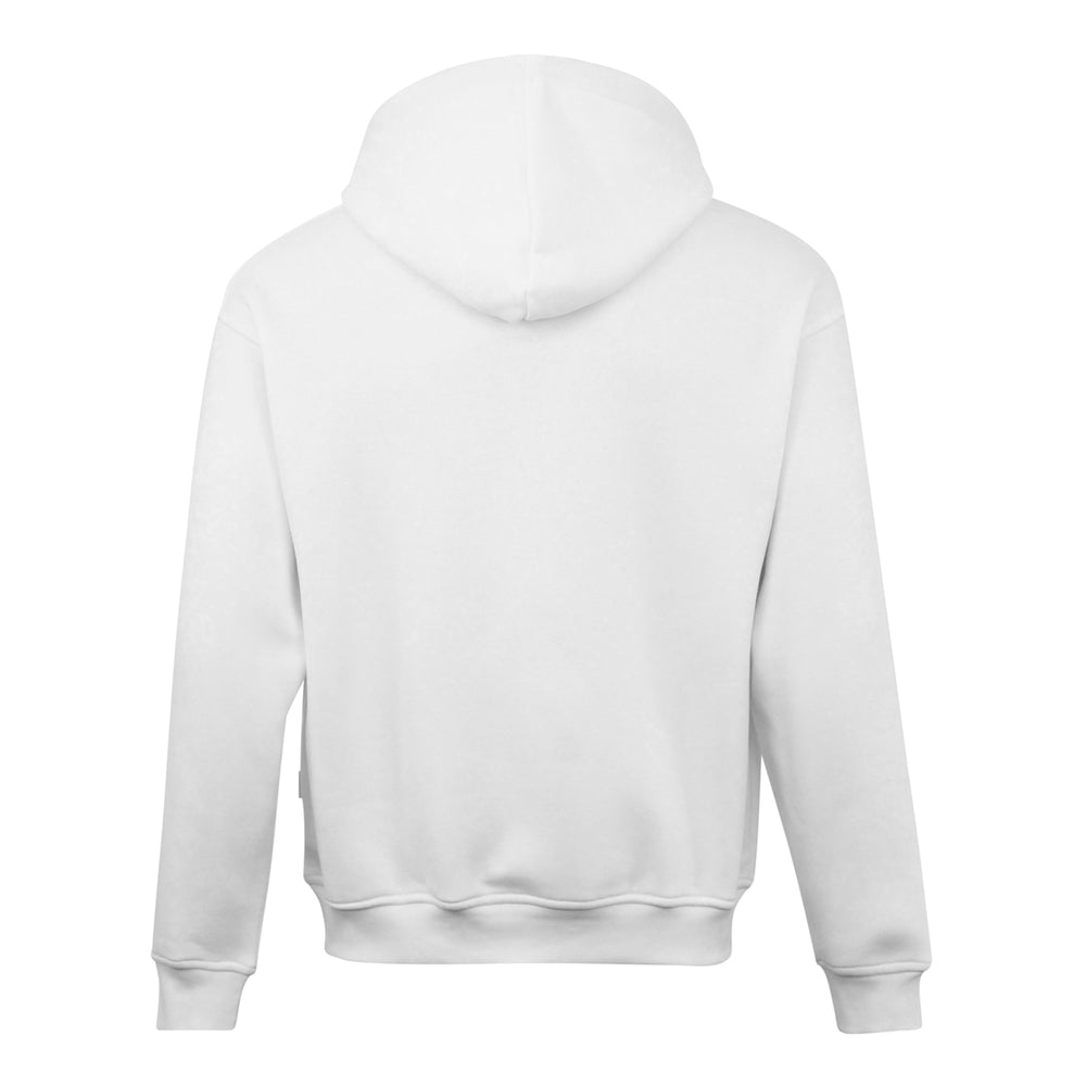 Nicce Mede Logo Hood White - Roulette Clothing