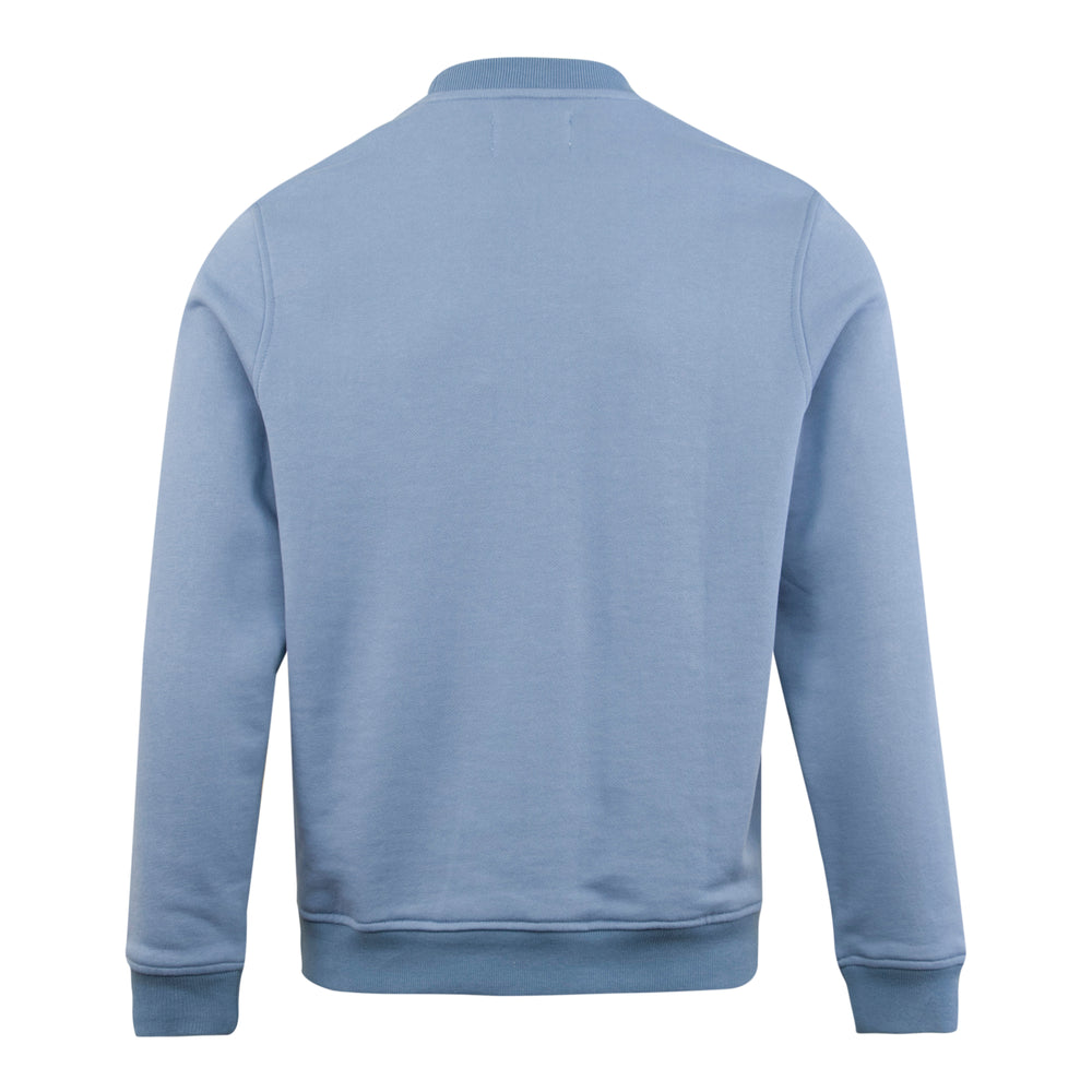 Load image into Gallery viewer, Parlez Berwick Embroided Sailing Crewneck Blue, Mens Sweatshirt available at Roulette Clothing