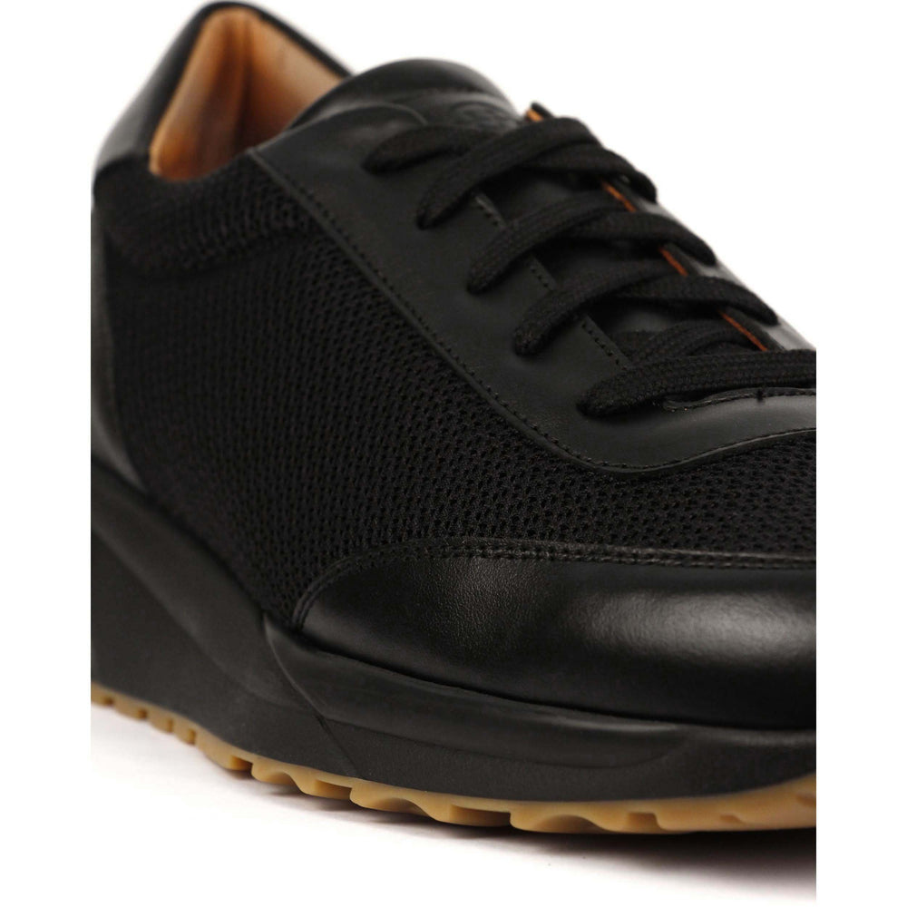 Clae Ellington SP Milled Leather Shoe Black - Roulette Clothing