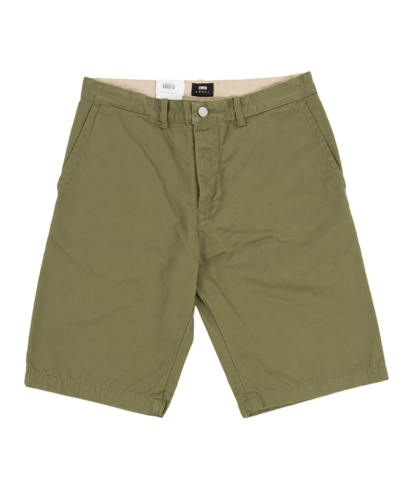 Edwin Rail Shorts (Green) - Roulette Clothing