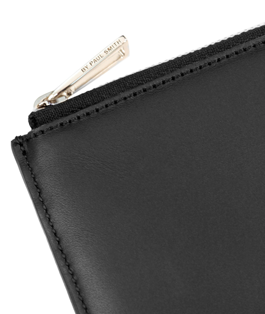 Load image into Gallery viewer, PS by Paul Smith Corner Zip Wallet Black - Roulette Clothing
