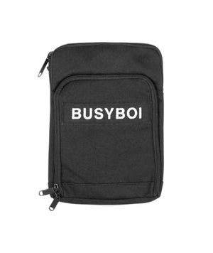 Load image into Gallery viewer, Busyboi Shoulder Bag Black - Roulette Clothing
