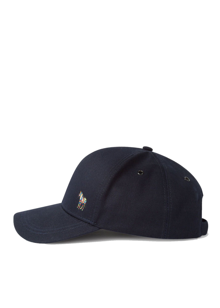 Paul Smith Zebra Baseball Cap Navy - Roulette Clothing