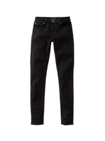 Nudie Skinny Lin Jeans Black - Roulette Clothing