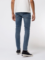 Nudie Jeans Skinny Lin Dark Blue Navy - Roulette Clothing