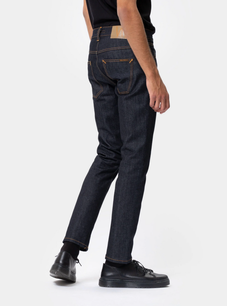 Nudie Jeans Grim Tim Dry True Navy - Roulette Clothing
