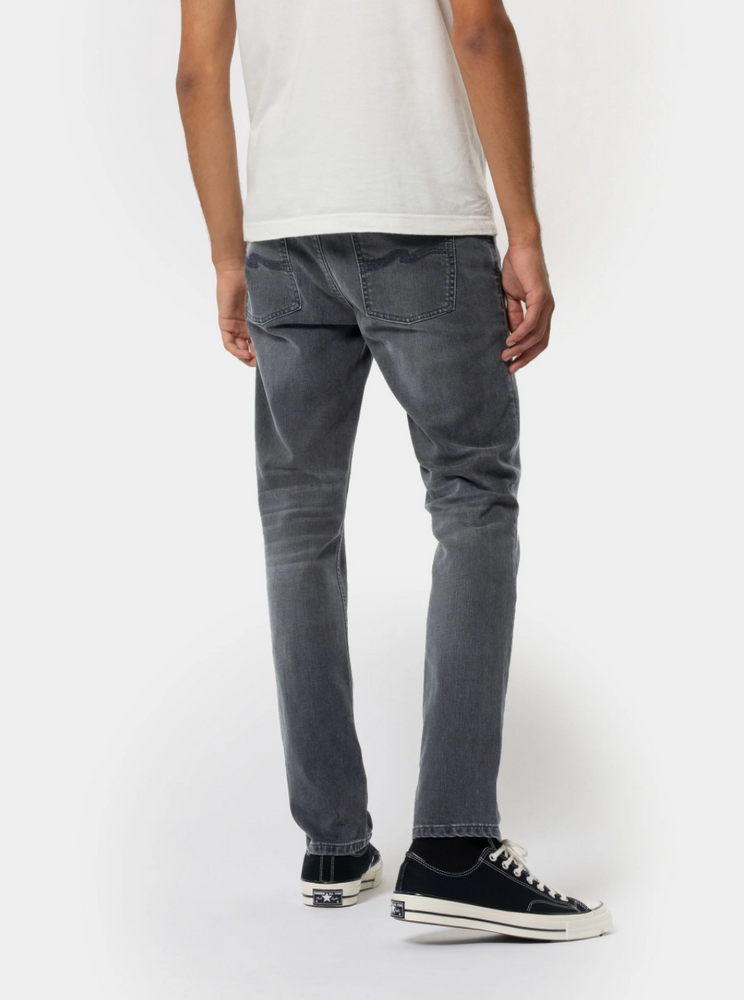 Nudie Lean Dean Mono Grey - Roulette Clothing