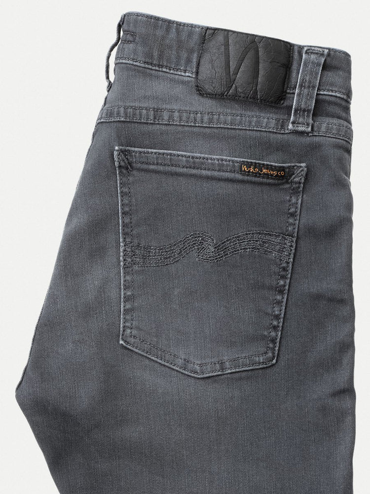 Nudie Jeans Skinny Lin Concrete Grey Jean - Roulette Clothing