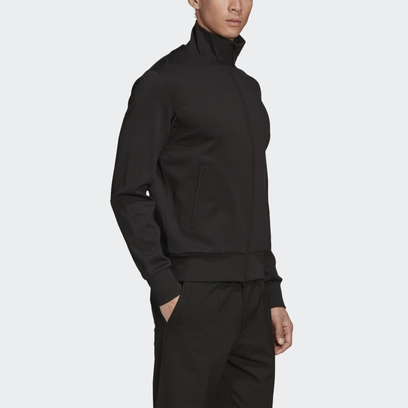 Load image into Gallery viewer, Adidas Y-3 MCL Full Zip Track Top Black - Roulette Clothing