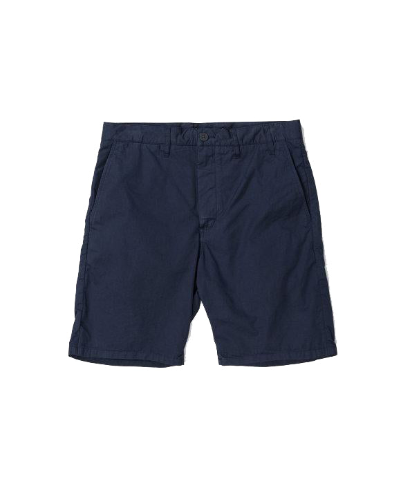 Norse Projects Aros Light Twill Short Navy - Roulette Clothing