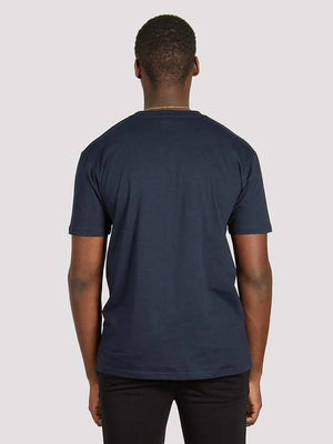 Load image into Gallery viewer, Blood Brother Trademark Printed T-Shirt Navy - Roulette Clothing