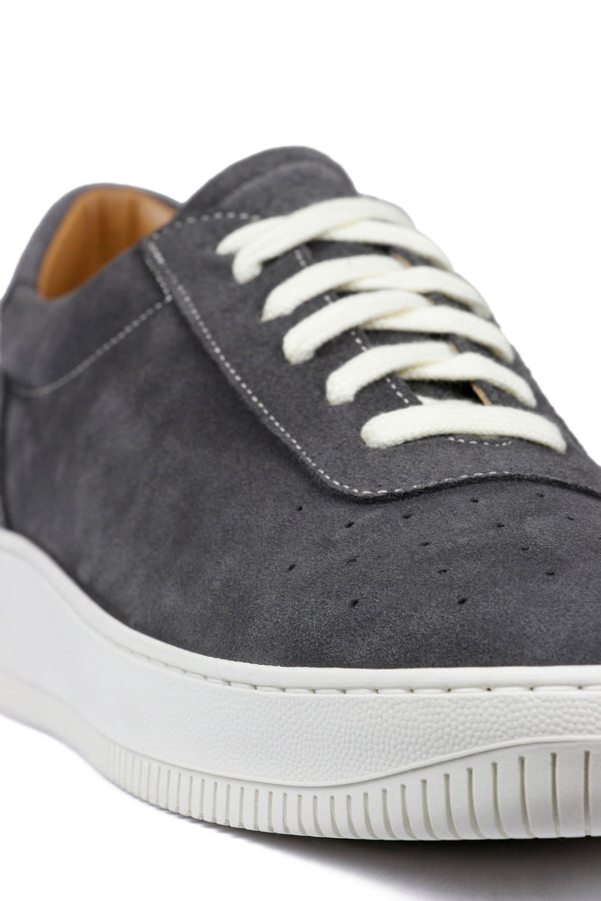 Load image into Gallery viewer, Unseen Footwear Clement Suede Contrast Grey - Roulette Clothing