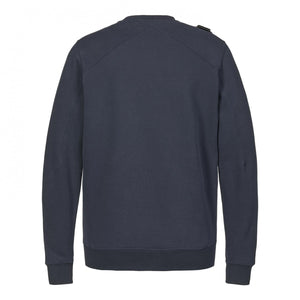 Load image into Gallery viewer, Ma Strum Core Crewneck Sweatshirt Navy, Mens Sweatshirt available at Roulette Clothing