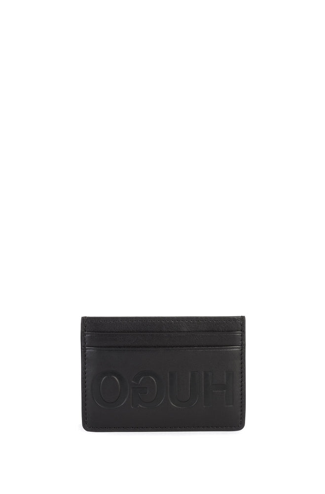 Hugo Card Holder and Key Ring Box Black - Roulette Clothing