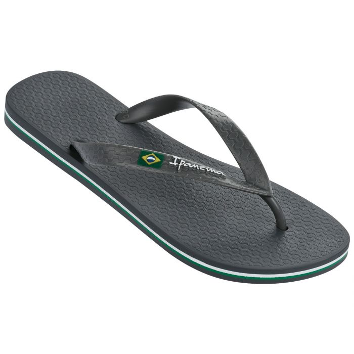 Ipanema Classic Brazil Flip Flop Graphite, Footwear available at Roulette Clothing