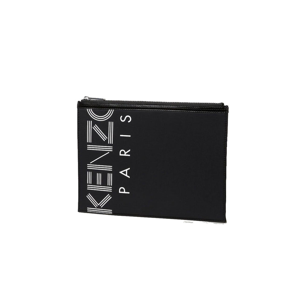 Kenzo Nylon Large Pouch Black - Roulette Clothing