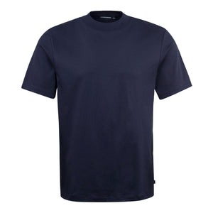 Load image into Gallery viewer, J Lindeberg Ace Mock Neck T-Shirt Navy, Mens T-Shirts available at Roulette Clothing