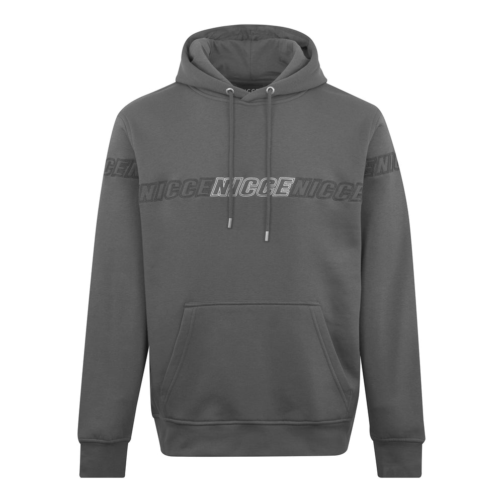 Nicce Rioja Hood Steel Grey - Roulette Clothing