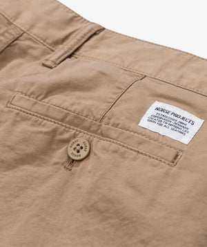 Load image into Gallery viewer, Norse Projects Aros Light Twill Short Khaki - Roulette Clothing