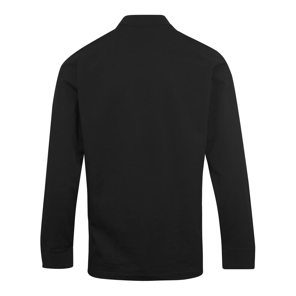 Load image into Gallery viewer, adidas Y-3 Classic Chest Logo Pique LS Polo Shirt Black - Roulette Clothing