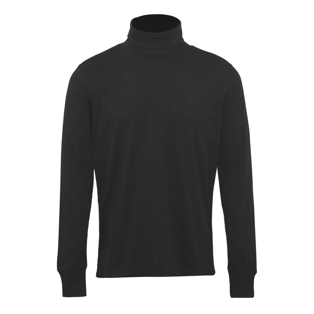 PS Paul Smith LS Roll Neck Tee Black - Roulette Clothing