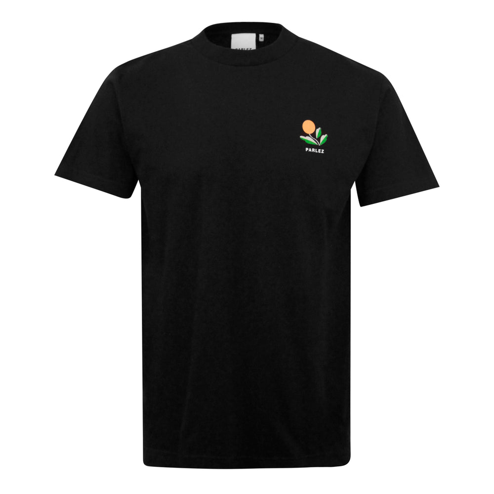 Parlez Kojo Back Print T-Shirt Black - Roulette Clothing