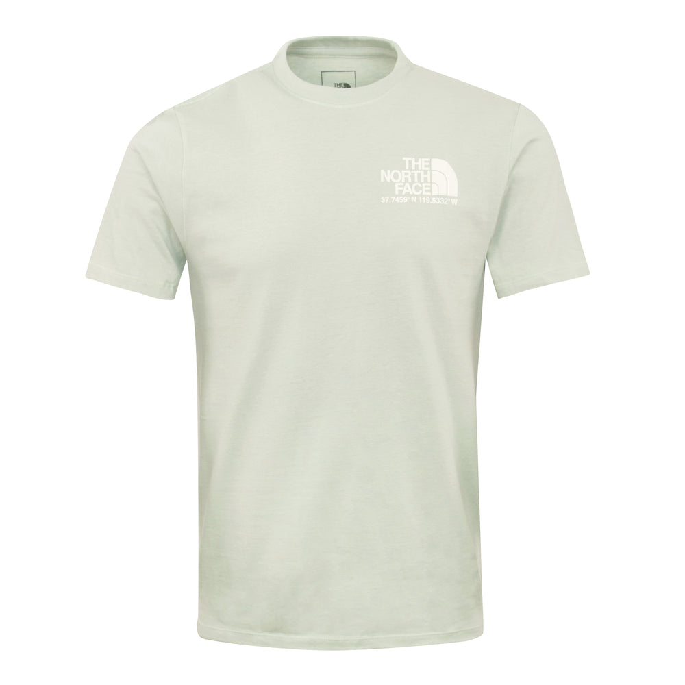 The North Face Coordinates Tee Mint - Roulette Clothing