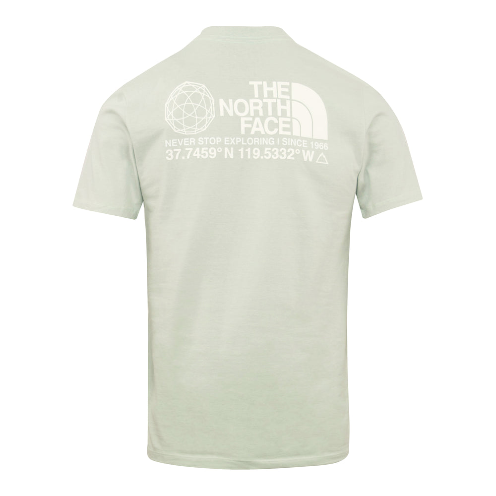 Load image into Gallery viewer, The North Face Coordinates Tee Mint - Roulette Clothing