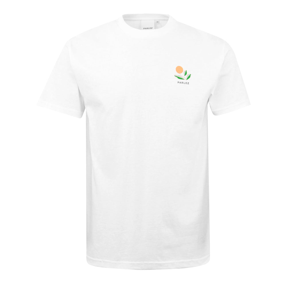 Parlez Kojo Back Print T-Shirt White - Roulette Clothing