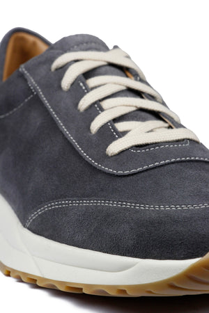 Load image into Gallery viewer, Unseen Footwear Trinity Suede Contrast Grey - Roulette Clothing