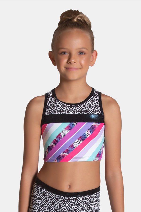 Candy Cropped Singlet