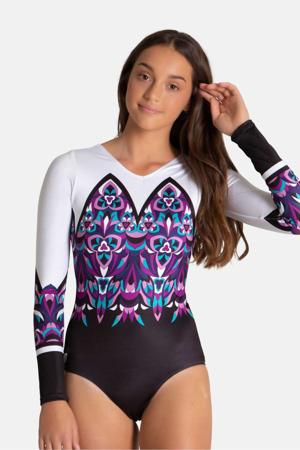 Cathedral Long Sleeve Leotard