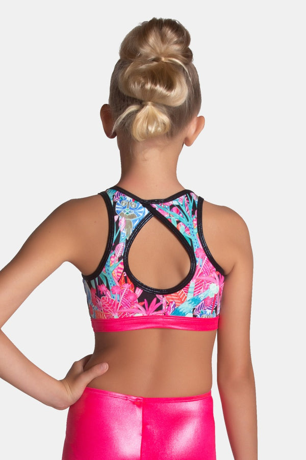 Electric Jungle Crop Top