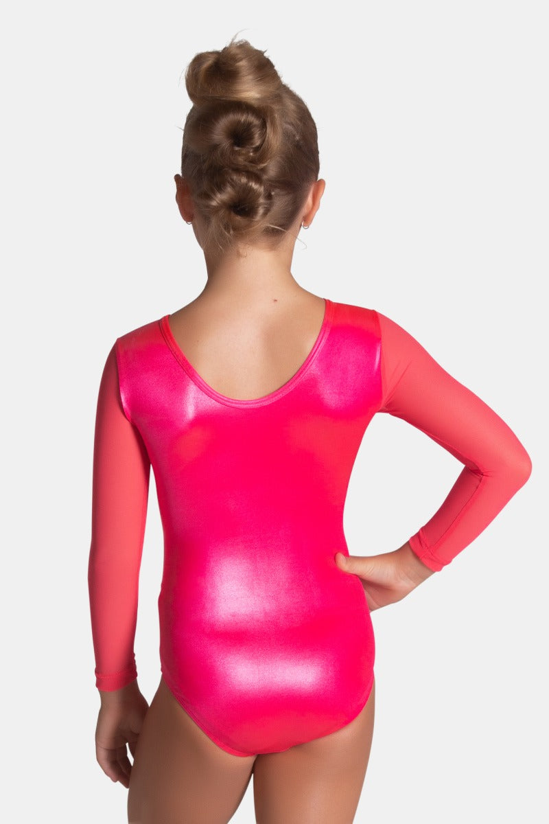 Sugarplum Long Sleeve Leotard