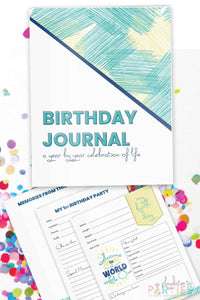 Birthday Interview Journal Keepsake