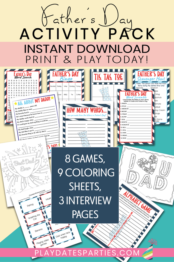 Father's Day Activity Bundle