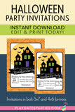 Halloween Party Printables (Giant Bundle!)