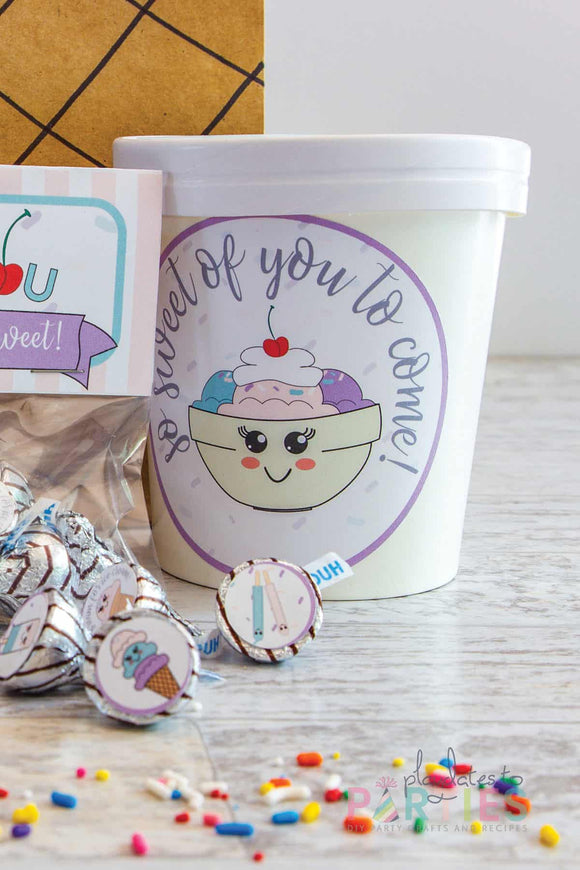 Ice Cream Party Printables - Party Circles
